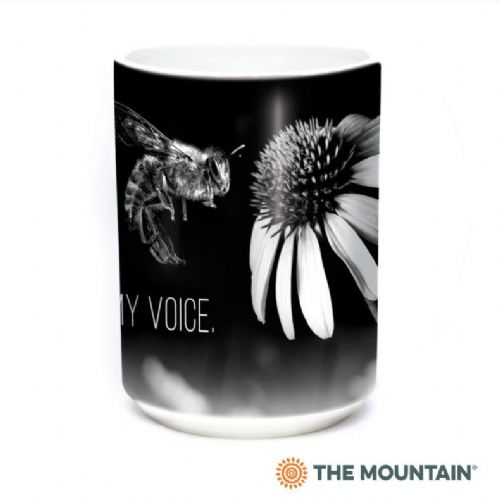 Bee My Voice Ceramic Mug | The Mountain®